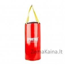 Bokso maišas vaikams SportKO SMP9 24x50 cm - Red
