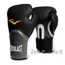 Bokso pirštinės Everlast - Black M(12 oz)