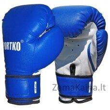 Bokso pirštinės SportKO PD2 -  Blue  12 oz