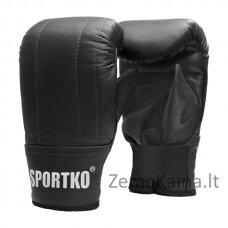 Bokso pirštinės universalaus dydžio SportKO PK3