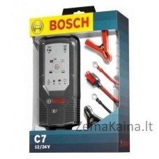 BOSCH C7 impulsinis automobilio akumuliatoriaus pakrovėjas