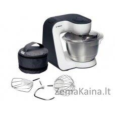 Bosch MUM54A00 virtuvinis kombainas 3,9 L Juoda, Sidabras, Balta 900 W