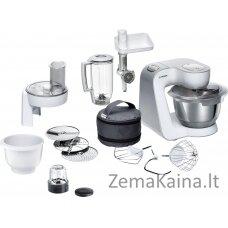 Bosch MUM58257 virtuvinis kombainas 1000 W 3,9 L Nerūdijančiojo plieno, Balta