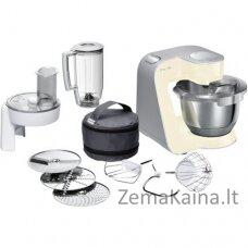 Bosch MUM58920 virtuvinis kombainas 3,9 L Rusvai gelsvas, Pilka, Nerūdijančiojo plieno 1000 W