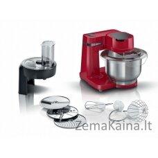 Bosch Serie MUMS2ER01 virtuvinis kombainas 700 W 3,8 L Raudona