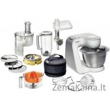 Bosch MUM 54251 Styline virtuvinis kombainas 3,9 L Nerūdijančiojo plieno, Balta 900 W