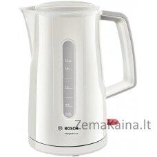 Bosch TWK3A011 elektrinis virdulys 1,7 L Pilka 2400 W