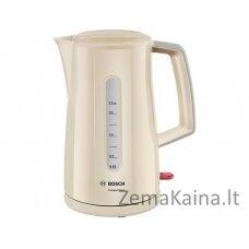 Bosch TWK3A017 elektrinis virdulys 1,7 L Kreminė spalva 2400 W
