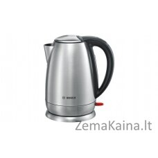 Bosch TWK78A01 elektrinis virdulys 1,7 L Juoda, Nerūdijančiojo plieno 2200 W