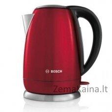 Bosch TWK78A04 elektrinis virdulys 1,7 L Juoda, Raudona 2200 W