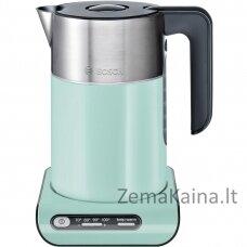 Bosch TWK8612P elektrinis virdulys 1,5 L Juoda, Pilka, Turkis 2000 W
