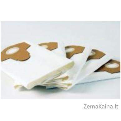 Caramba/Parkside didesnės filtracijos popierinis šiukšlių maišelis, 5 vnt po 30 Ltr (baltas)