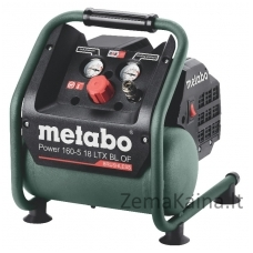 Cordless compressor Power 160-5 18 LTX BL OF, carcass, Metabo