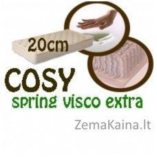 Čiužinys COSY spring visco extra 200*90*20