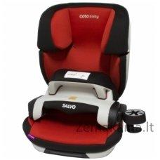Coto Baby Salvo Red autokedutė su IsoFix 9-36 kg. Raudona