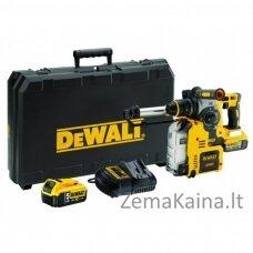 DCH275P2 DeWALT 18V 5.0 Ah perforatorius su dulkių ištraukimo sistema