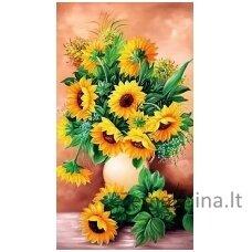 Deimantinė mozaika Gėlės WD2334