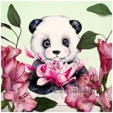 Deimantinė mozaika Panda WD2341