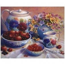 Deimantinė mozaika paveikslas - Berry Treats AZ-1371
