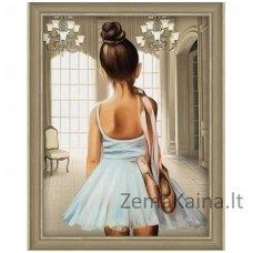 Deimantinė mozaika paveikslas AZ-1559 - Young Balley Dancer