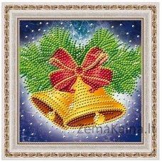 Deimantinė mozaika paveikslas - Bells AZ-3013
