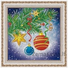 Deimantinė mozaika paveikslas - CHRISTMAS DECORATIONS AZ-3016