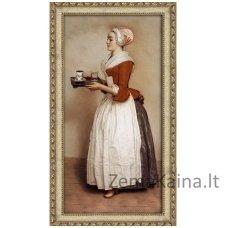 Deimantinė mozaika paveikslas - Chocolate Lady AZ-1533