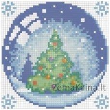 Deimantinė mozaika paveikslas - CHRISTMAS TREE AZ-1255