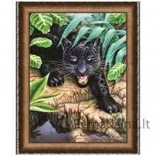 Deimantinė mozaika paveikslas - Black Panther AZ-1522