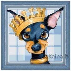 Deimantinė mozaika paveikslas - King Toy AZ-1548