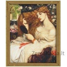 Deimantinė mozaika paveikslas - Lady Lilit AZ-1537