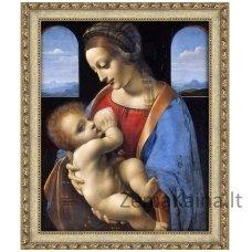 Deimantinė mozaika paveikslas - Madonna Litta AZ-1527