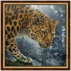 Deimantinė mozaika paveikslas - Jungle Hunter AZ-1519