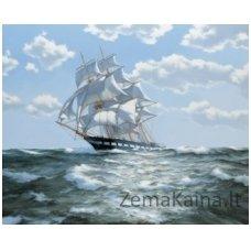 Deimantinė mozaika paveikslas On all Sails AZ-1059