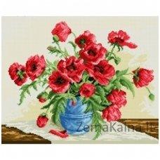 Deimantinė mozaika paveikslas Red Poppies AZ-1028