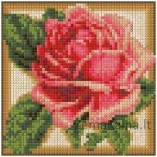 Deimantinė mozaika paveikslas - Rose AZ-1450