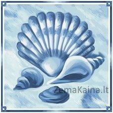Deimantinė mozaika paveikslas - Sea Presents AZ-1483