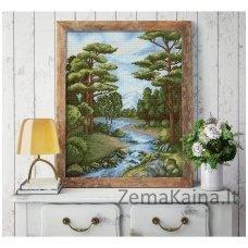 Deimantinė mozaika paveikslas - Forest River AZ-1652