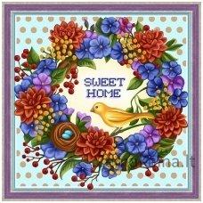 Deimantinė mozaika paveikslas - Sweet Home AZ-1580