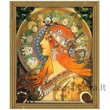 Deimantinė mozaika paveikslas - Zodiac AZ-1536