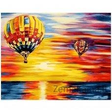 Deimantines mozaikos rinkinys - Air Baloons WD113