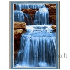 Deimantines mozaikos rinkinys - DIAMOND PAINTING KIT NOISY WATER AZ-1492