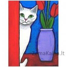 Deimantines mozaikos rinkinys - White Cat WD283