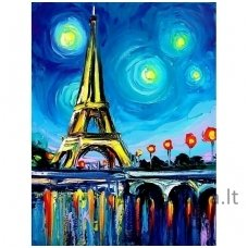 Deimantines mozaikos rinkinys - Paris Colours WD291