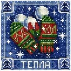 Deimantines mozaikos rinkinys - WISHING WARMTH AZ-1672