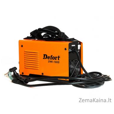 Invertorinis suvirinimo aparatas DEFORT DWI-180S 4
