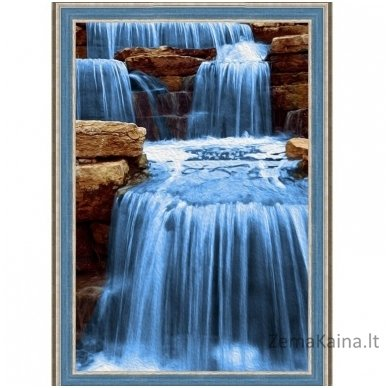 Deimantines mozaikos rinkinys - DIAMOND PAINTING KIT NOISY WATER AZ-1492