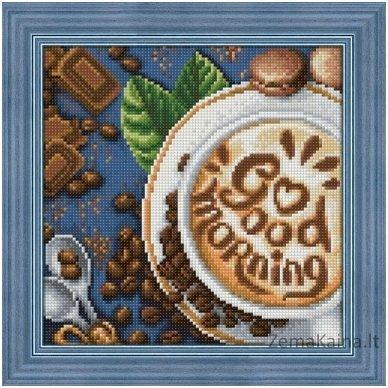 Deimantines mozaikos rinkinys - GOOD MORNING AZ-1661