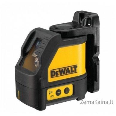 DEWALT DW088K 2 krypčių savaime susireguliuojantis lazeris 2