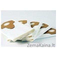 Geresnio filtravimo popierinių maišelių komplektas, 5 vnt po 30 Ltr (baltas)